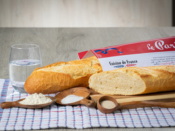 an imagine of the Le Parisien, one of our most popular French baguettes